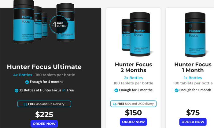 Hunter focus packages