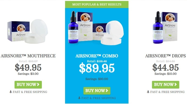 buy airsnore