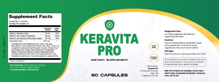 Keravita Pro Review – The All-Natural Way to Keep Your Nails and a Healthy