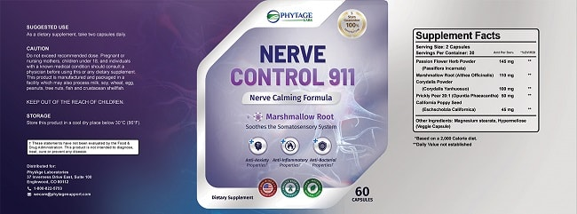 Nerve Control 911 Review – The Supplement That Changed Pain Relief Forever