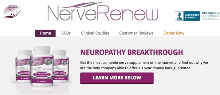 Nerve Renew Review – The Nerve Pain Relief We've Been Looking For