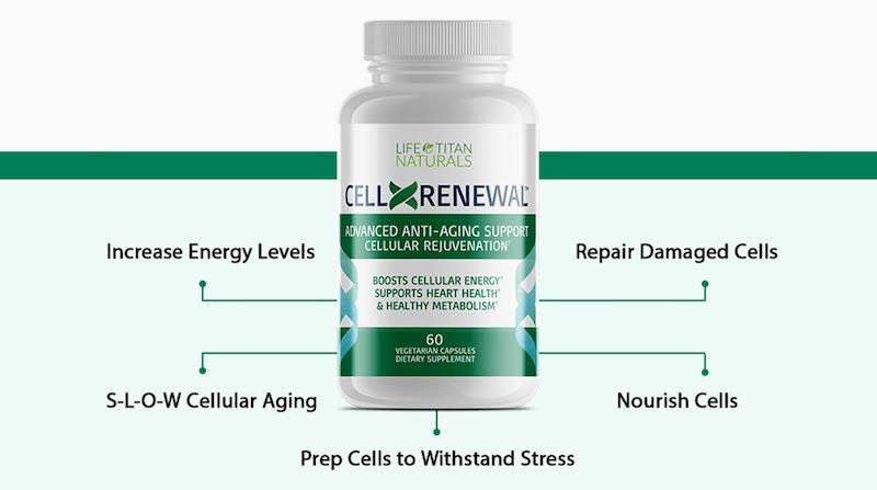 CellXRenewal ingredients