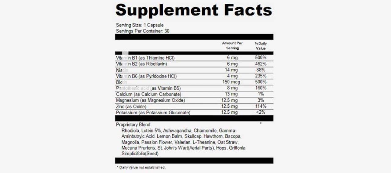 Clarisil Pro ingredients